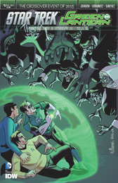 IDW Star Trek Green Lantern 5A