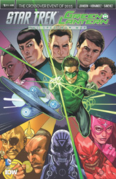 IDW Star Trek Green Lantern 6A