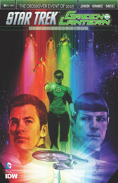 IDW Star Trek Green Lantern 6 SUB A