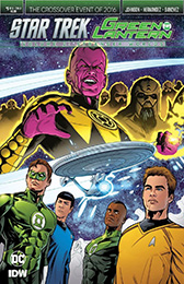 IDW Star Trek Green Lantern 2 1