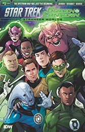 IDW Star Trek Green Lantern 2 1 RI