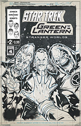 IDW Star Trek Green Lantern 2AE