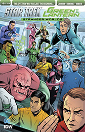 IDW Star Trek Green Lantern-2 4SUB