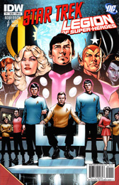 IDW Star Trek/Legion of Superheroes #1A