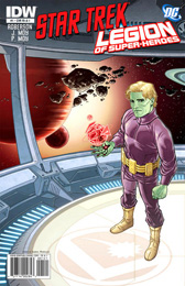 IDW Star Trek/Legion of Superheroes #1RIA1