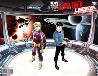 IDW Star Trek/Legion of Superheroes #1RIB