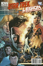 IDW Star Trek/Legion of Superheroes #2A