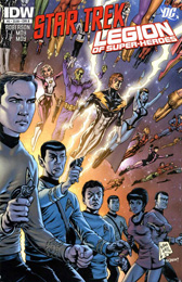 IDW Star Trek/Legion of Superheroes #2B
