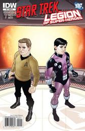 IDW Star Trek/Legion of Superheroes #2RI