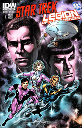 IDW Star Trek/Legion of Superheroes #3B