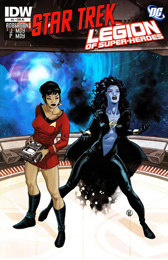 IDW Star Trek/Legion of Superheroes #3RI