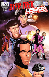 IDW Star Trek/Legion of Superheroes #4B