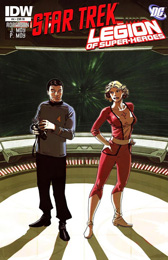 IDW Star Trek/Legion of Superheroes #4RI