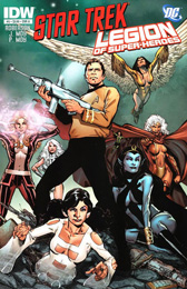 IDW Star Trek/Legion of Superheroes #5A