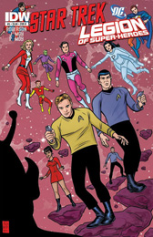 IDW Star Trek/Legion of Superheroes #5B