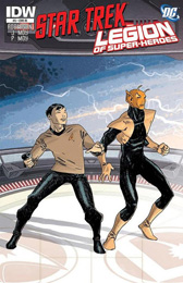 IDW Star Trek/Legion of Superheroes #5RI