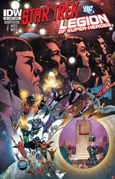 IDW Star Trek/Legion of Superheroes #6A