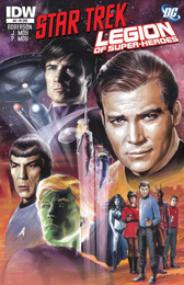 IDW Star Trek/Legion of Superheroes #6RI