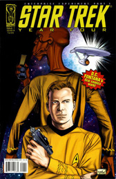 IDW Year Four - The Enterprise Experiment #1A