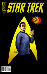 IDW Year Four - The Enterprise Experiment #1B