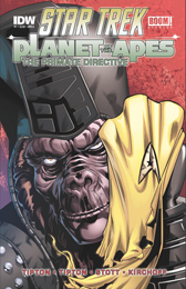 IDW Star Trek Primate DIrective 1A