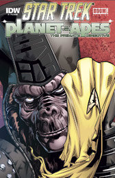 IDW Star Trek Primate DIrective Preview