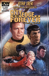 "IDW Star Trek ""The City on the Edge of Forever"" #5 SUB"