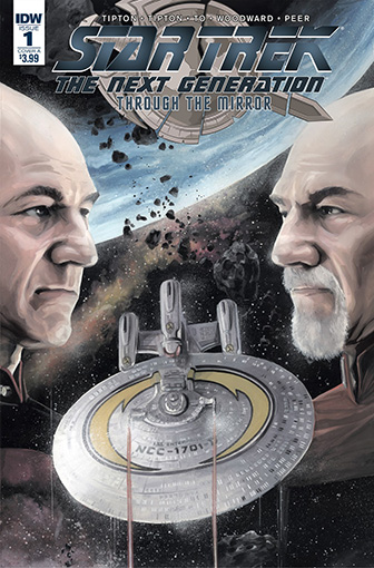 IDW Star Trek TNG: Through the Mirror 1 A