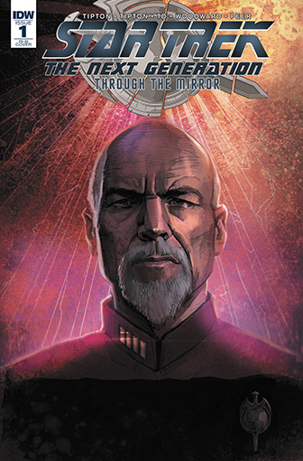 IDW Star Trek TNG: Through the Mirror 1 RI-B