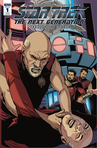 IDW Star Trek TNG: Through the Mirror 1 RI-C