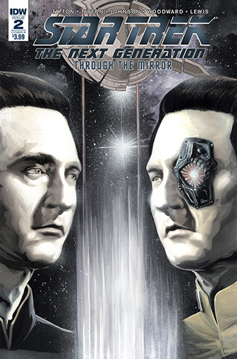 IDW Star Trek TNG: Through the Mirror 2 A