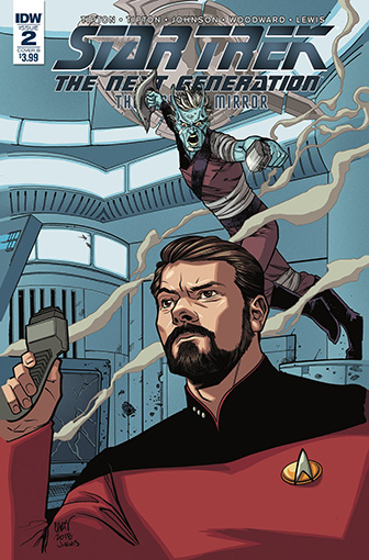 IDW Star Trek TNG: Through the Mirror 2 B