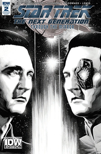 IDW Star Trek TNG: Through the Mirror 2 CONVENTION