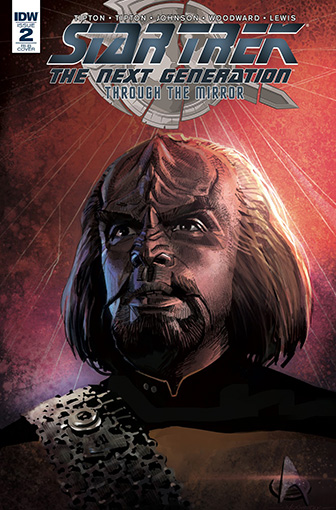 IDW Star Trek TNG: Through the Mirror 2 RI-B