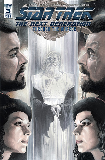 IDW Star Trek TNG: Through the Mirror 3 A