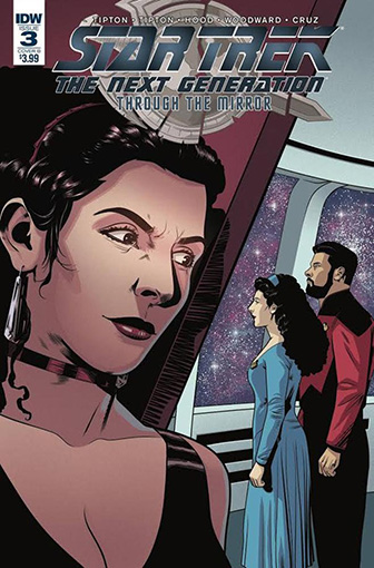 IDW Star Trek TNG: Through the Mirror 3 B