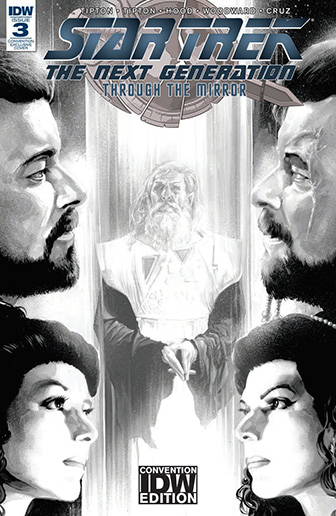 IDW Star Trek TNG: Through the Mirror 3 CONVENTION
