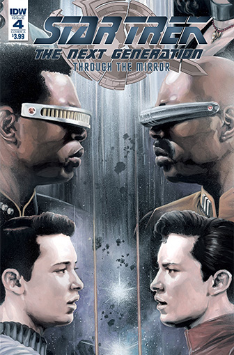 IDW Star Trek TNG: Through the Mirror 4 A