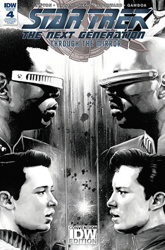 IDW Star Trek TNG: Through the Mirror 4 CONVENTION
