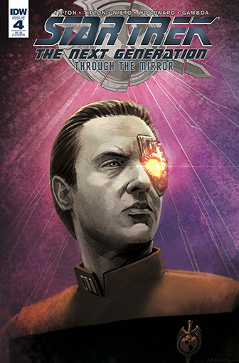 IDW Star Trek TNG: Through the Mirror 4 RI-B
