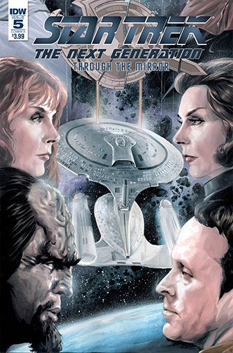 IDW Star Trek TNG: Through the Mirror 5 A