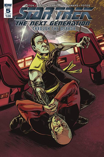 IDW Star Trek TNG: Through the Mirror 5 B