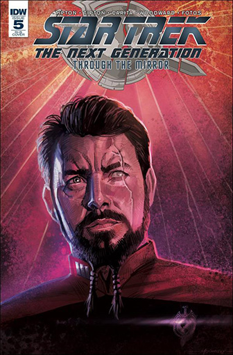 IDW Star Trek TNG: Through the Mirror 5 RI-B
