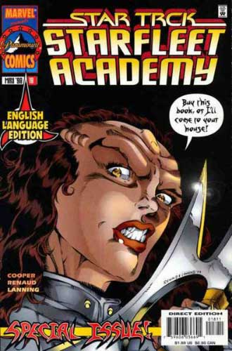Marvel Starfleet Academy #18 English