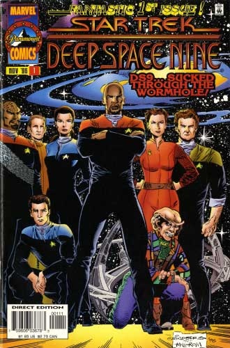 Marvel Deep Space Nine Monthly #1