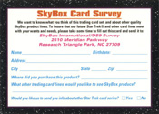 Survey Card