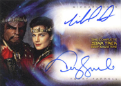 DA1 Michael Dorn and Terry Farrell