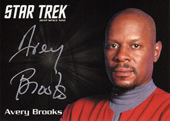 Silver Autograph - Avery Brooks