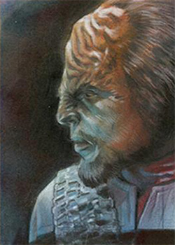 Huy Truong AR Sketch - Worf