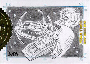 Sketch - DS9 & Runabout